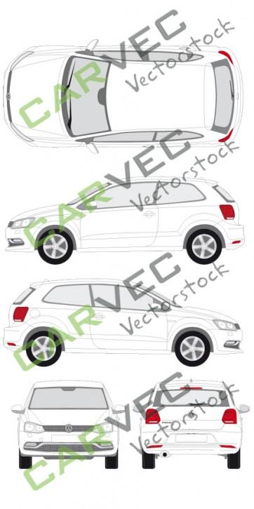VW Polo (2014) (3 Türer)