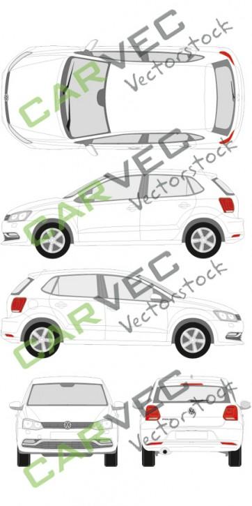 VW Polo (2014) (5 Türer)