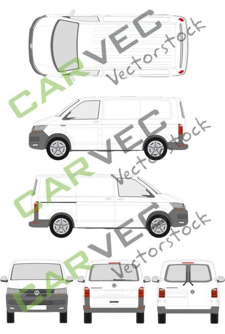 VW Transporter T6 L1H1  Kasten (2015)