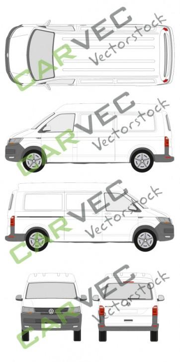 VW Transporter T6 L2H2 Kasten (2015)