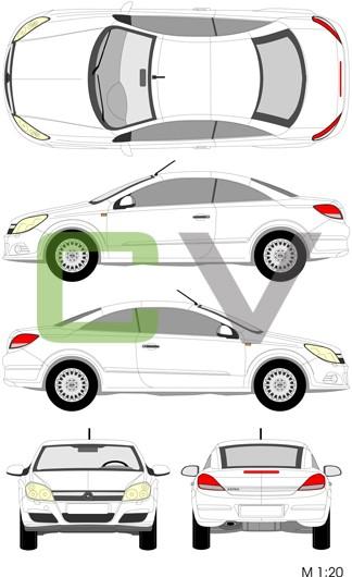 Opel Astra Cascada (2009)