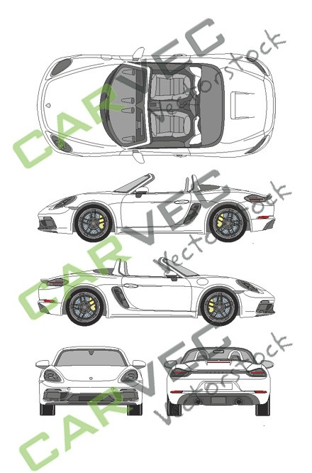 Porsche 718 Boxter GTS