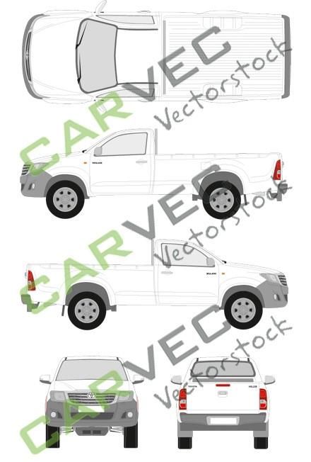 Toyota Hilux SingleCab (2012)