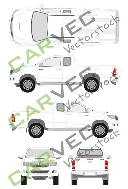 Toyota Hilux ExtraCab (2012)
