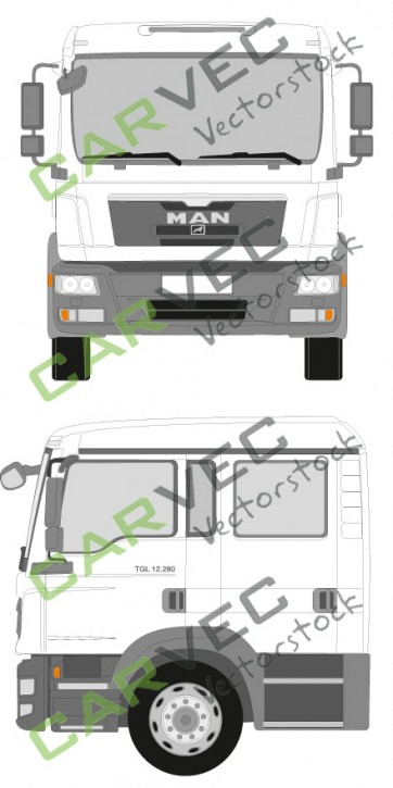 MAN TGL Doppelkabine Euro5 12-18T (2012)
