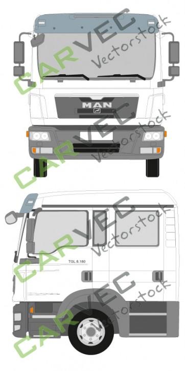 MAN TGL Doppelkabine Euro5 7,5-12T (2012)