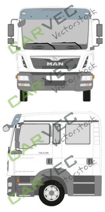 MAN TGL Doppelkabine Euro5 7,5-12T (2014)
