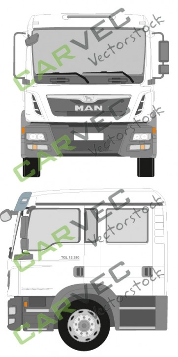 MAN TGL Doppelkabine Euro5 12-18T (2014)