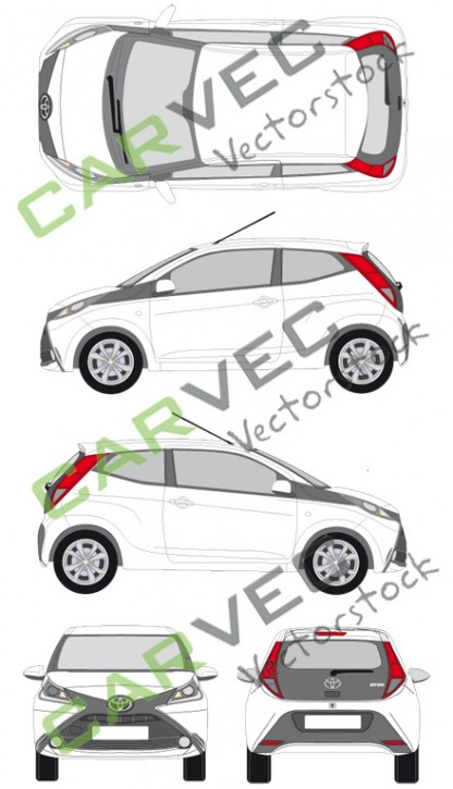 Toyota Aygo (2014) (3 Türen)
