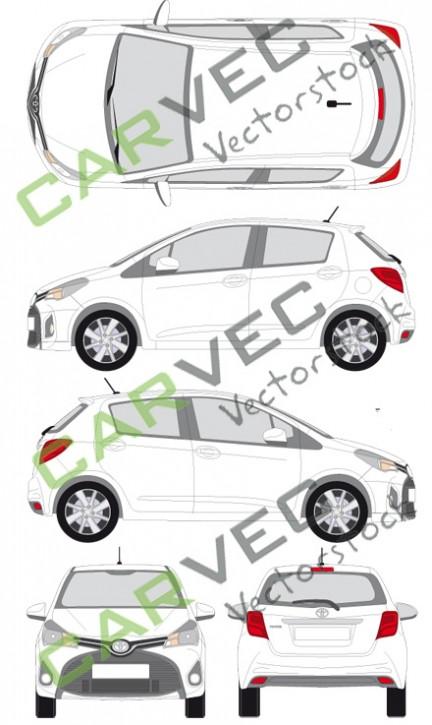 Toyota Yaris (2014) (5 Türen)