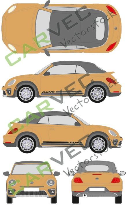 VW Beetle Dune Cabrio (2016)
