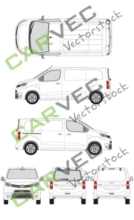 Toyota Proace L2 Kasten (2016)