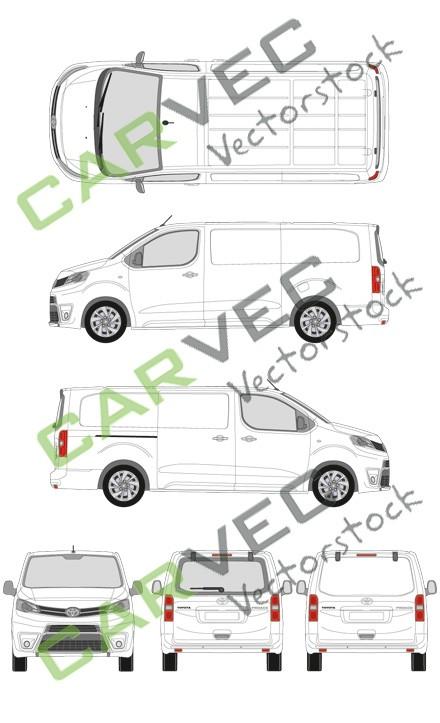 Toyota Proace L3 Kasten (2016)