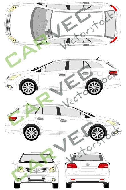 Toyota Avensis Kombi (2009)