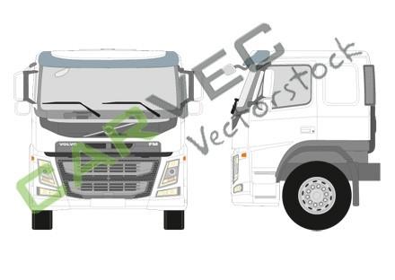 Volvo FM Low Sleeper Cab (FM-LSLP)