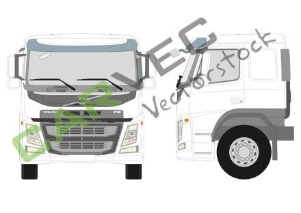 Volvo FM Sleeper Cab (FM-SLP)
