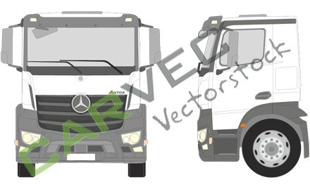 Mercedes Antos M Compact Space Motortunnel 170 18-25T