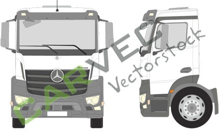 Mercedes Antos S Classic Space Motortunnel 170 18-25T