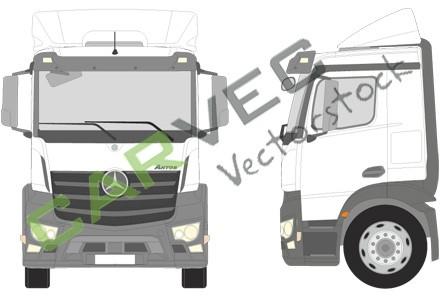 Mercedes Antos M Classic Space Motortunnel 170 18-25T