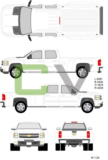 Chevrolet Silverado HD Doublecab Longbox Double (2012)
