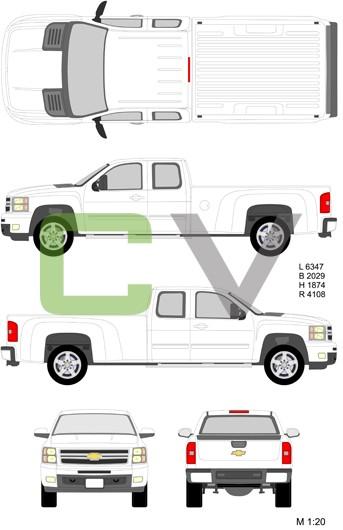 Chevrolet Silverado HD Longcab Longbox (2012)