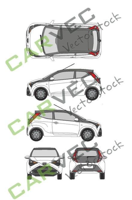Toyota Aygo (2018) (3 Türen)