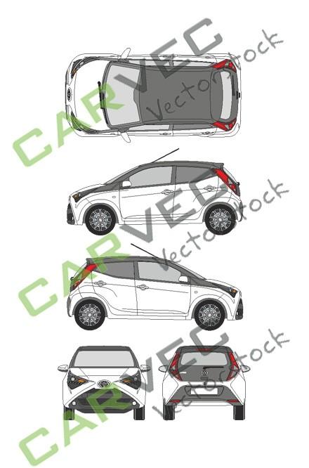 Toyota Aygo (2018) (5 Türen)