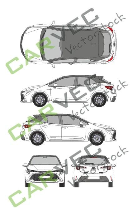 Toyota Corolla (2019) (5 Türen)