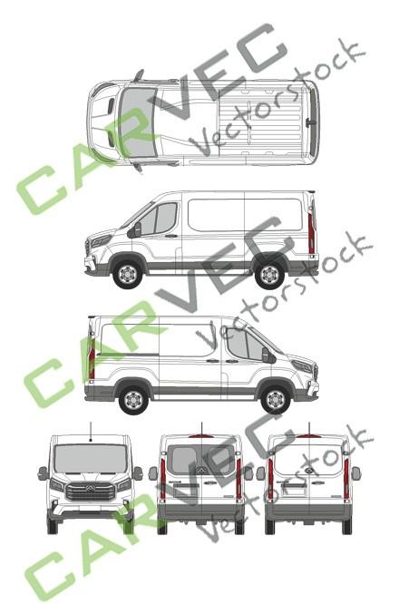 Maxus EV90 (L2H1)Kasten