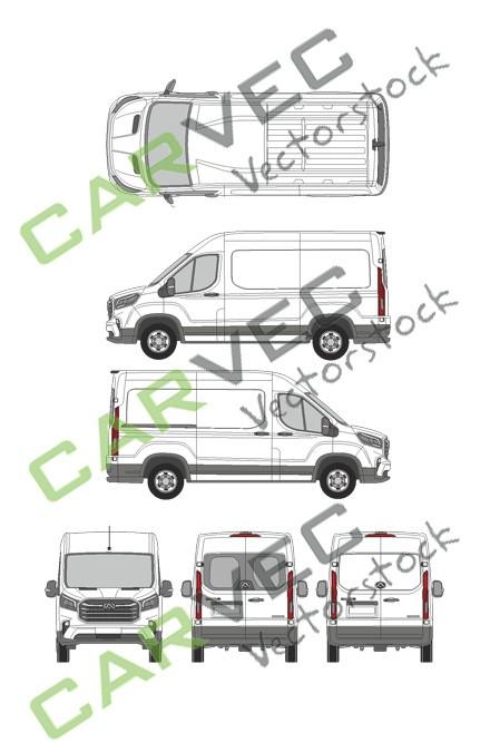 Maxus EV90 (L2H2)Kasten
