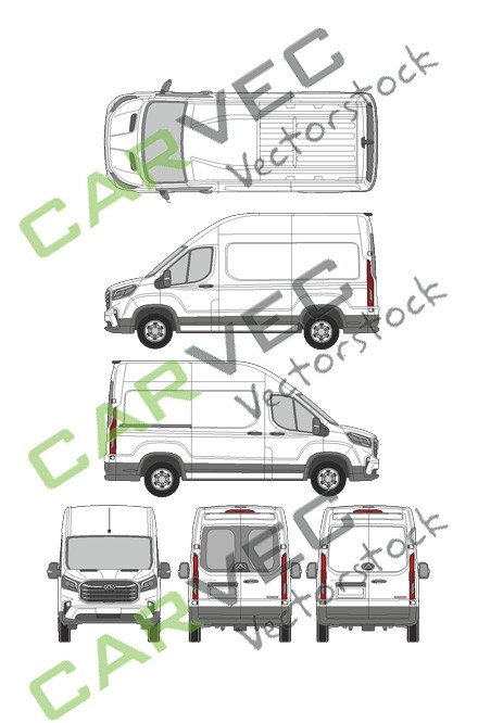 Maxus EV90 (L2H3)Kasten