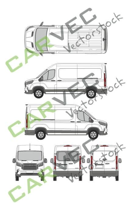 Maxus EV90 (L3H2)Kasten
