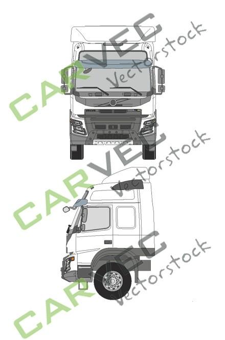 Volvo FMX Globetrotter + Spoiler
