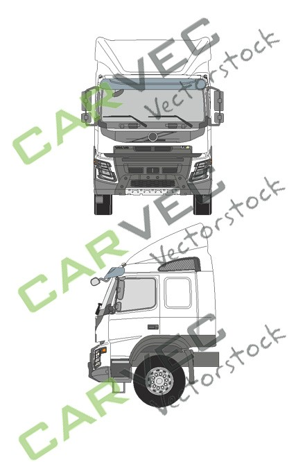 Volvo FMX Long Cab (Spoiler)