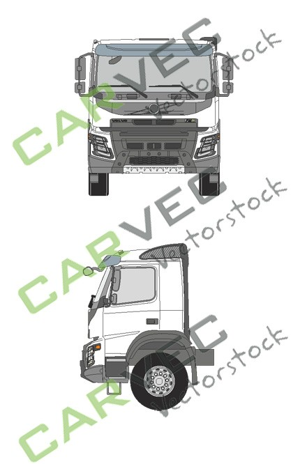 Volvo FMX Normal Cab