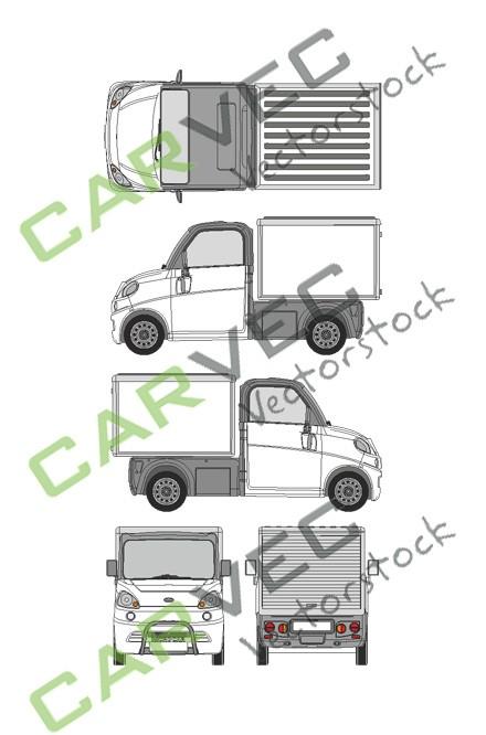 Microcar Flex L3 Kasten