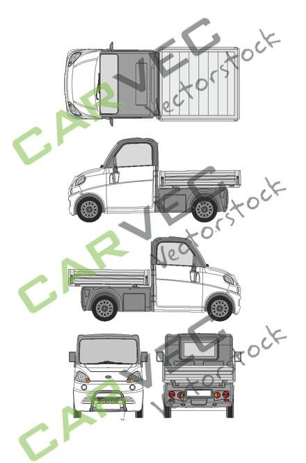 Microcar Flex L3 Pritsche