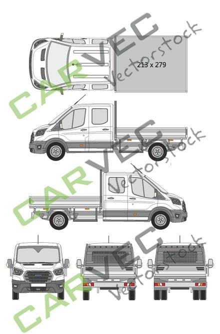 Ford Transit Doppelkabine L3 (2019)