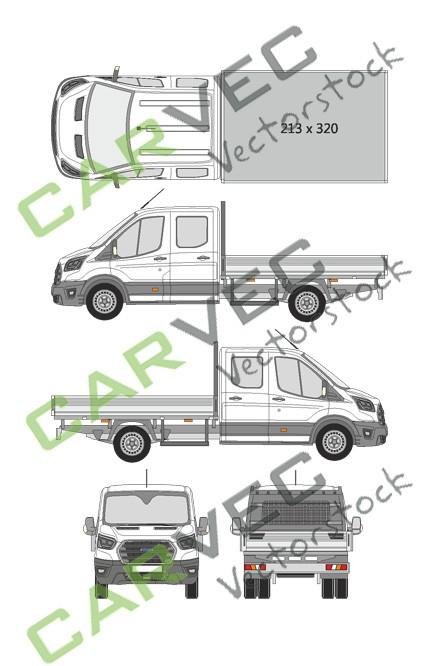 Ford Transit Doppelkabine L4 (2019)