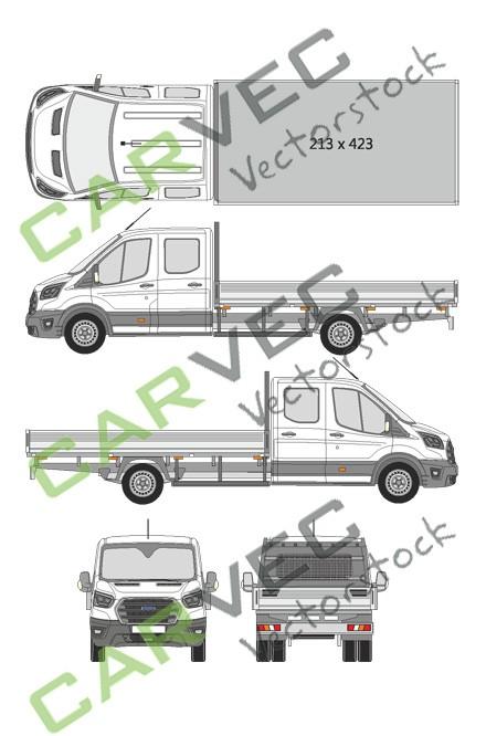 Ford Transit Doppelkabine L5 (2019)