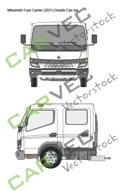Mitsubishi Fuso Canter (2021) Double Cab big