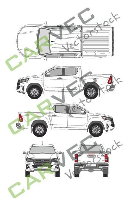 Toyota Hilux DoubleCab (2019)