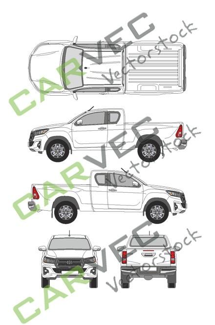 Toyota Hilux ExtraCab (2019)