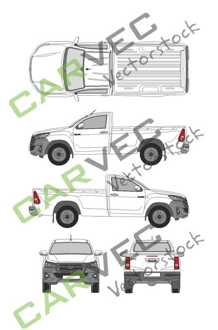 Toyota Hilux SingleCab (2019)