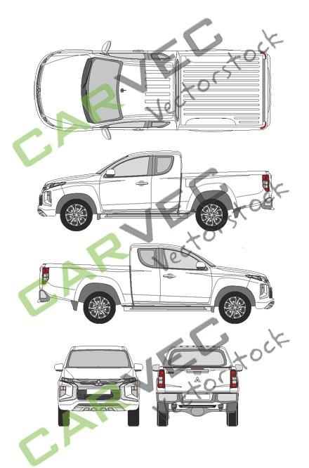 Mitsubishi L200 Club Cab (2019)