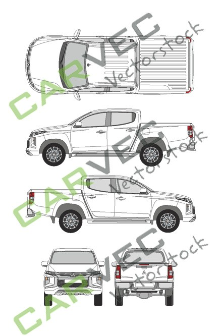 Mitsubishi L200 King Cab (2019)