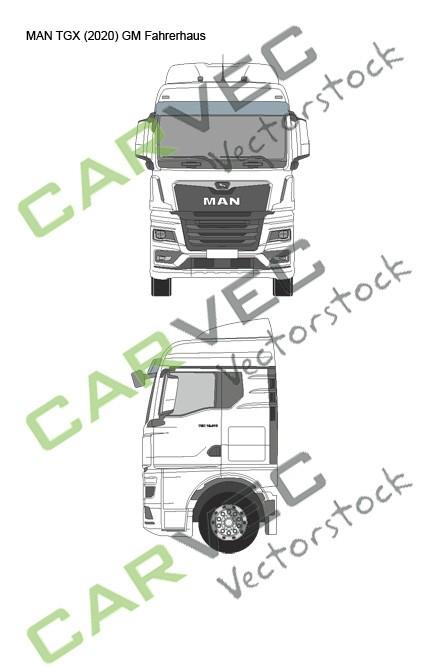 MAN TGX (2020) GM Fahrerhaus
