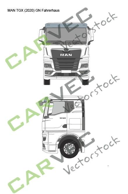 MAN TGX (2020) GN Fahrerhaus