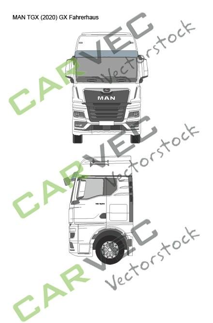 MAN TGX (2020) GX Fahrerhaus