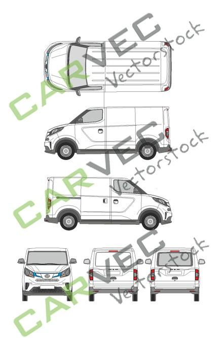 Maxus EV30 (e-deliver 3) (L1) Heckklappe